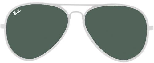 ray ban aviator brillengläser