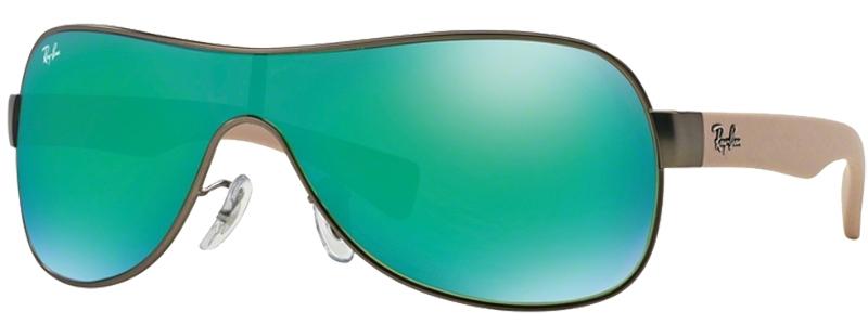 sonnenbrille ray ban grün
