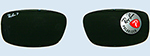 RAY-BAN Brillen Ersatz-Gläser