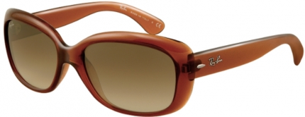 RAY-BAN RB 4101 JACKIE OHH Kunststoff Sonnenbrille, braun-lila