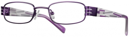 KID'S ONE BI 4217 Kinderbrille lila-grau