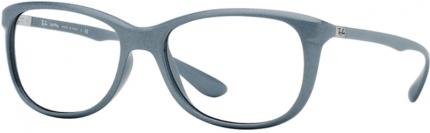 Ray Ban RB 7024 LITEFORCE Kunststoffbrille matt perl-grau