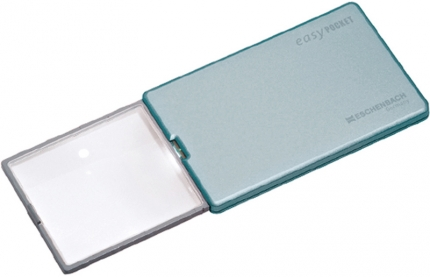 easyPOCKET - 4-fach LED Leuchtlupe im Scheckkartenformat