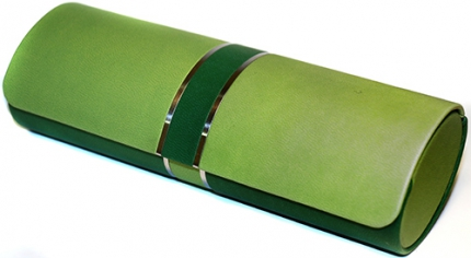 Brillenetui JENNIFER oval, grün