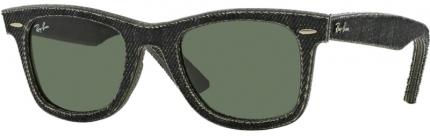 RAY-BAN RB 2140 Original Denim Wayfarer Sonnenbrille, Jeans black