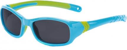 Kindersonnenbrille 881217, polarisiert, türkis