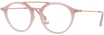 RAY-BAN RB 7097 Brille, rosébraun