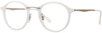 Ray Ban RB 7073 Light Ray Kunststoff-/Titanbrille weiß