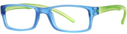CentroStyle Active frames 15778N Kinderbrille Sportbrille blau-grün