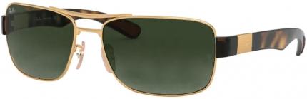 RAY-BAN RB 3522 Sonnenbrille, golden-braun