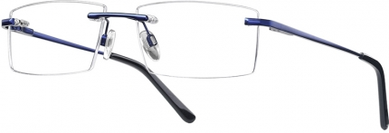 START UP premium BI 7934 randlose Brille dunkelblau