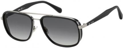 FOSSIL FOS 2064/S Sonnenbrille, schwarz-silbern
