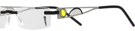 switch it Garnitur 754 Tennis, palladium-schwarz-gelb