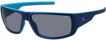 Polaroid Sportbrille PLD 7006/S polarized matt blau