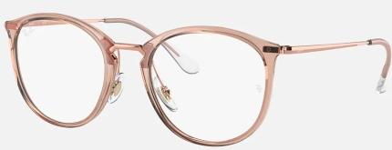 RAY-BAN RB 7140 Kunststoffbrille transparent