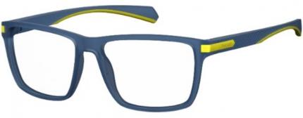 Polaroid PLD D355 Kunststoffbrille blau-gelb