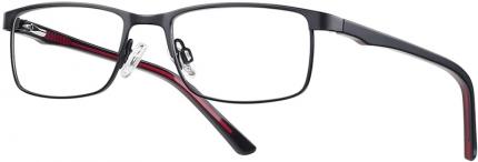 START UP premium BI 7929 Brille schwarz-rot