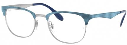 RAY-BAN RB 6346 Brille blau-silbern