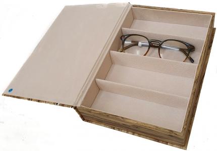 4er Mehrbrillenetui HOLZ