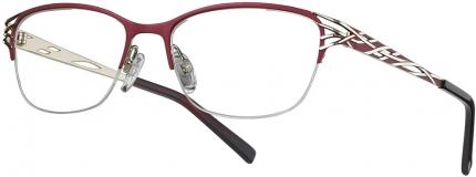 LOOK & FEEL BI 8292 Tragrandbrille rot-golden