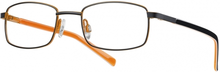 KIDS ONE BEFLEX BI 4301 Kinderbrille schwarz orange