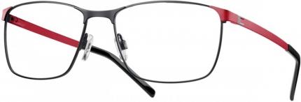 LOOK & FEEL Beflex Brille BI 7002 Flex-Brille schwarz-rot