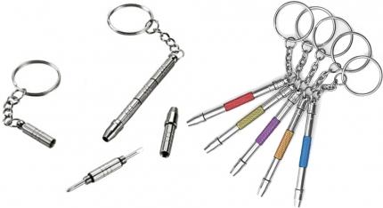 Mini-Schraubendreher für Brillen mit 5 Funktionen