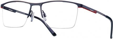 LOOK & FEEL BI 7015 Tragrandbrille schwarz-rot