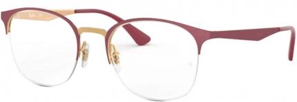 RAY-BAN RB 6422 Tragrandbrille schwarz-silbern