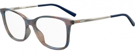 MISSONI MMI 0015 Brille glitzer blau-lila