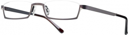 readers eyewear BI 1177 Halbbrille Lesebrille braun