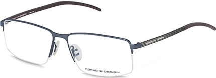 PORSCHE DESIGN P8347 Tragrandbrille dunkelblau