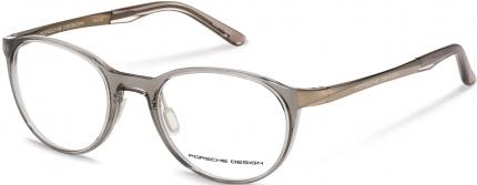 PORSCHE DESIGN P8342 Kunststoffbrille grau