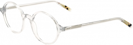 AUGENBLICK Brille BETTY hellgrau-transparent