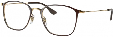 RAY-BAN RB 6466 Brille braun-gold