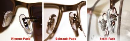 1 Paar originale Nasenpads, Nasenstege von RAY-BAN