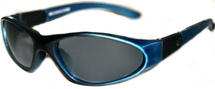 sportliche Kindersonnenbrille 12-240403, blau