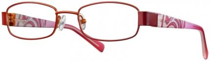 KID'S ONE BI 4233 Brille, rot-orange
