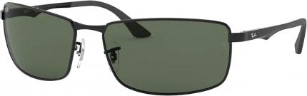 RAY-BAN RB 3498 Sonnenbrille schwarz