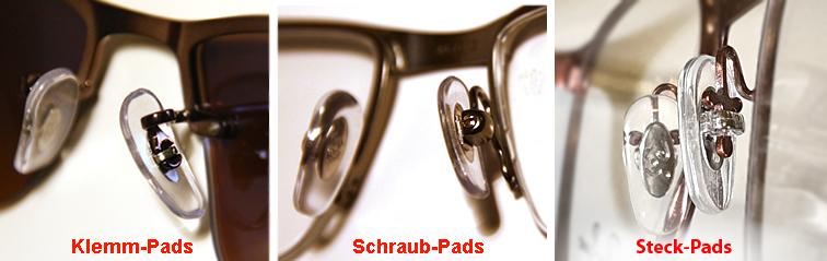 Brille nasenflügel