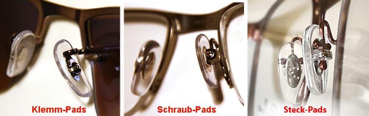 1 Paar original RAY BAN Nasenpad Schrauben