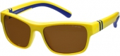 Sonnenbrille Sportbrille 15-480303 polarized gelb