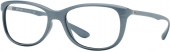 Ray Ban RB 7024 LITEFORCE Kunststoffbrille, matt perl-grau