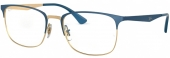 RAY-BAN RB 6421 Brille golden-blau