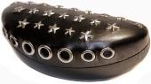 Brillenetui HEAVY METAL für gebogene Brillen / Sonnenbrillen, schwarz