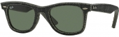 RAY-BAN RB 2140 Original Denim Wayfarer Sonnenbrille, Jeans black