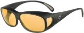 Überbrille FILTER COVER verglast mit AMD-Comfort, matt schwarz, 6% Vergrößerung