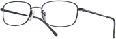 START UP basics BI 7743 Brille schwarz Gr. 50