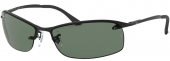 RAY-BAN RB 3183 TOP BAR Sonnenbrille matt-schwarz