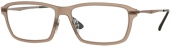 Ray Ban RB 7038 Light Ray Kunststoffbrille, matt hellbraun, Gr. 55